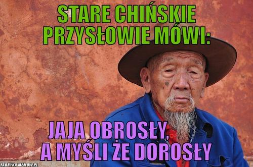 Mądrości życiowe Ze Starych Chińskich Przysłów Joe Monster