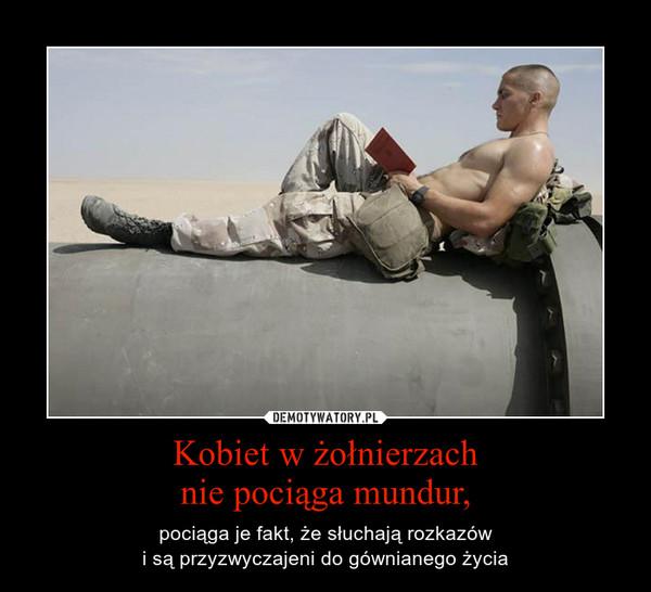 Co fajnego jest w żołnierzach