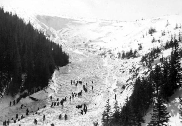 Lawina Biały Jar 1968 4