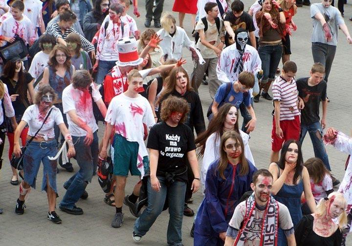Zombie w Warszawie
