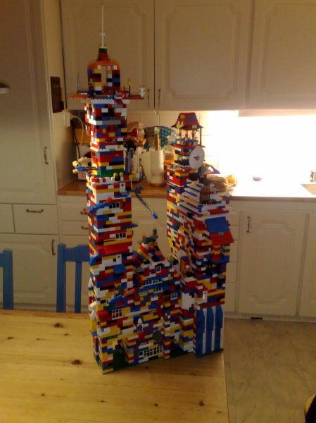Zamki Z Klocków Lego Joe Monster
