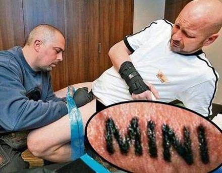 Historie Z Tatuażem Joe Monster