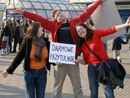 Darmowe Przytualnie - Free Hugs - Polska 2006!