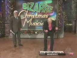 Niesamowity muzyk świąteczny