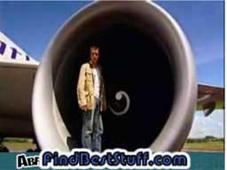 Top Gear - Co się stanie jeśli przejedziesz za startującym Boeingiem 747?