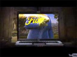 Fiona reklamuje internet!