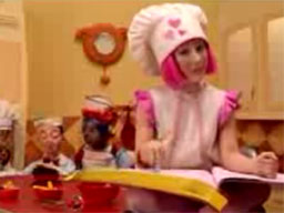 LazyTown - Cooking by the Book