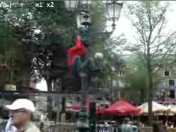 Żonglowanie na słupie