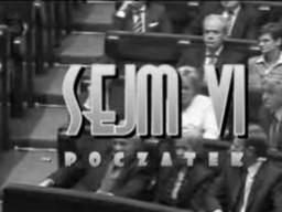 Sejm VI - początek