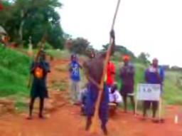 Afrykański taniec na rurze