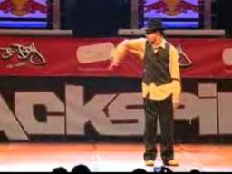 Piskający breakdancer