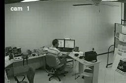 """""""Zmęczony"""" pracownik biurowy"""
