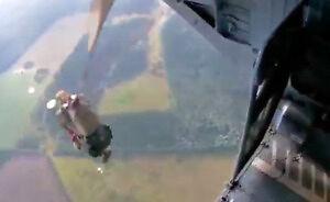 Zapowiadało się na to podczas skoków spadochronowych