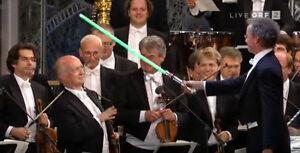 """""""Marsz Imperialny"""" wykonany przez Wiedeńską Orkiestrę Symfoniczną"""