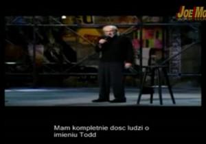 George Carlin - Ludzie o imieniu Todd (polskie napisy)