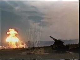 Pierwsze działo strzelające pociskami nuklearnymi