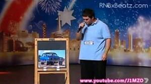 Człowiek naśladujący dźwięki samochodów - Australia's Got Talent 2012