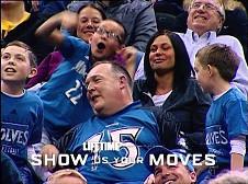Najwierniejszy kibic Minnesota Timberwolves