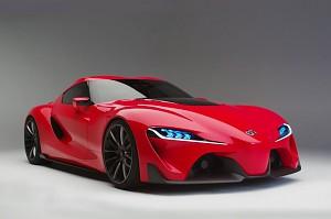 Toyota FT-1 - piękny samochód