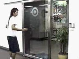 Drzwi otwierane specjalnym kodem