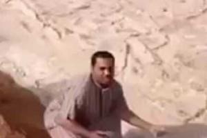 Piaskowa rzeka w Arabii Saudyjskiej