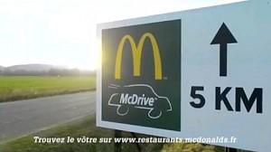 McDonalds trolluje BurgerKinga w Owernii (Francja)