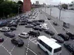 Jak skręca się w lewo w Moskwie