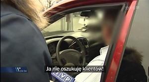 Jak taksówkarze nabijają klientów w butelkę?