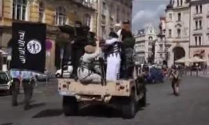 Czescy aktywiści zorganizowali fejkowy atak ISIS w centrum Pragi