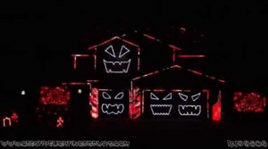 Halloween Light Show 2016 - Highway to Hell