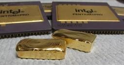 Odzyskiwanie złota z procesorów