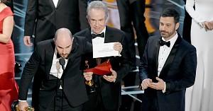 Największa Oscarowa wpadka. Pomylili koperty z najważniejszym werdyktem!
