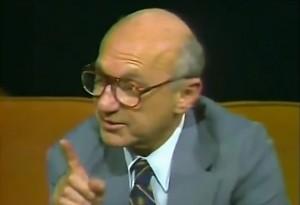Milton Friedman uświadamia lewaka