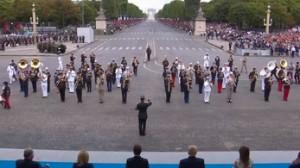 Francuska orkiestra gra Daft Punka dla Trumpa
