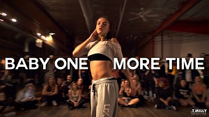 "Jade Chynoweth w seksownej choreografii do ""Baby one more time"""