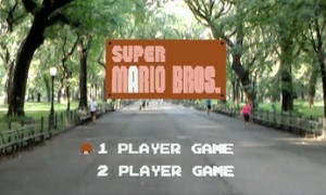 Super Mario Bros w rozszerzonej rzeczywistości