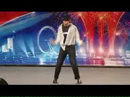 Michael Jackson w Britains Got Talent