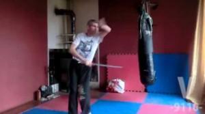Rosyjska szkoła walki - miecz samurajski