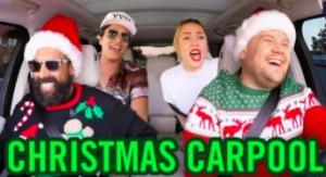 """Muzyczne gwiazdy śpiewają """"Santa Claus Is Comin' To Town"""" w samochodowym karaoke"""