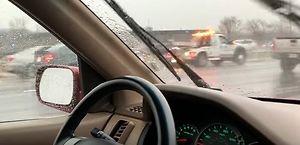 Oponowa apokalipsa na międzystanowej autostradzie w Indianie