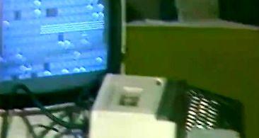 Dawna giełda komputerowa w stołówce Politechniki Wrocławskiej