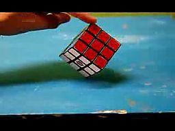 Kostka Rubika w stop motion