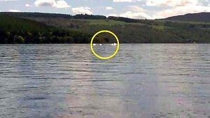 Potwór z Loch Ness zarejestrowany