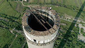 Wejście na rumuński komin 280 metrów