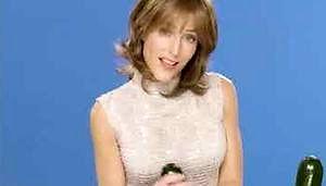Gillian Anderson robi dobrze kabaczkowi