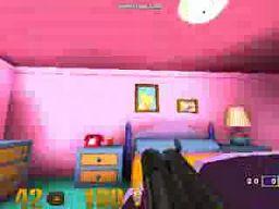 """Mapa """"The Simpsons"""" w Quake 3"""