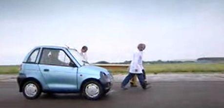 Jeremy testuje francuskie auto elektryczne
