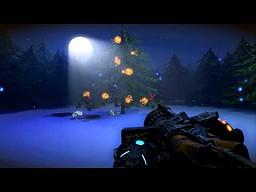 Bulletstormowa kartka świąteczna