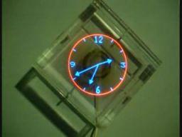 Zegar widmowy na śmigle