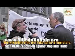 Lord Monckton kontra Greenpeace (polskie napisy)